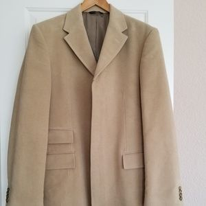 Banana Republic tan/camel moleskin coat size L